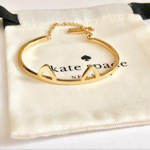 NEW! Kate spade cat ear bracelet